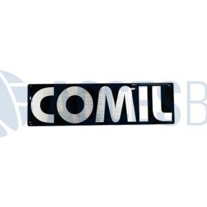 Logo Comil Letras Org. 29×8.3 cm