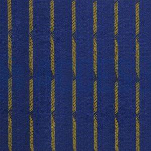 Tela Cortina Luxo Azul Con amarillo
