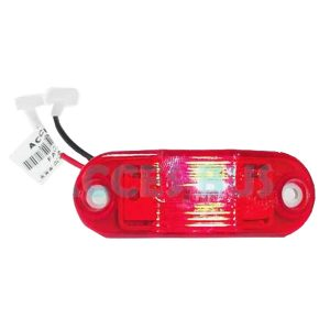 Faro Castilllo Lateral Sup. MP G7 C/led Rojo