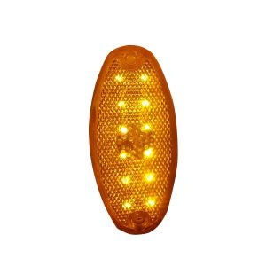 Faro Lateral Direccional Oval. 12LEDS 12/24V Org.
