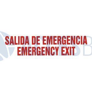 Logo Salida De Emergencia Transparente
