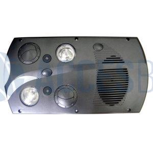 Luz de lectura gris MP G6 2da Verción LI Imp.