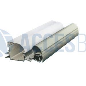 Perfil Aluminio Paquetera MP G7 C/ Accesorios x 6m