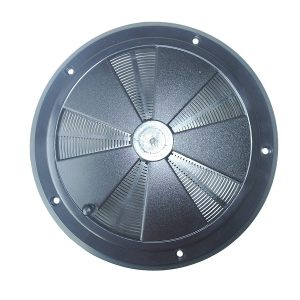 Tapa redonde de ventilador de aire Org. Gris